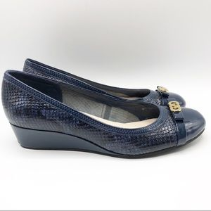 Cole Haan Elsie Logo Wedges